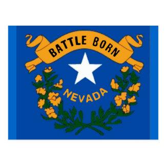Nevada Flag Postcard