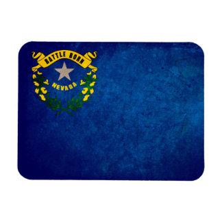 Nevada Flag; Rectangular Photo Magnet