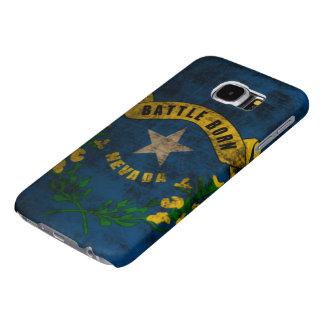 Nevada Flag Vintage Grunge Samsung Galaxy S6 Case