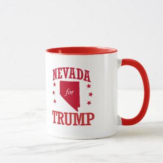 NEVADA FOR DONALD TRUMP MUG