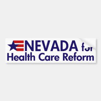 Nevada for Health Care Bumper Sticker Car Bumper Sticker