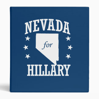 NEVADA FOR HILLARY BINDERS