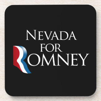 Nevada for Romney -.png Drink Coaster