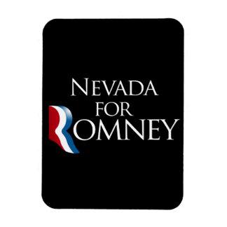 Nevada for Romney -.png Rectangular Photo Magnet