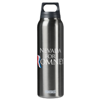 Nevada for Romney -.png 16 Oz Insulated SIGG Thermos Water Bottle