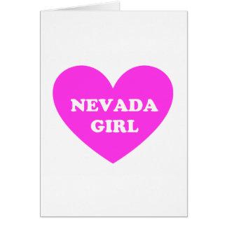 Nevada Girl Card