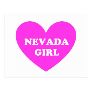 Nevada Girl Postcard
