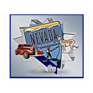 Nevada Graphic Postcard