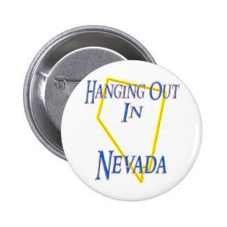 Nevada - Hanging Out Button