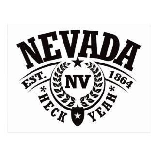 Nevada, Heck Yeah, Est. 1864 Postcard