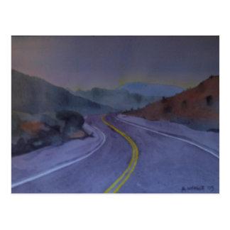 Nevada Highway 2 Postcard