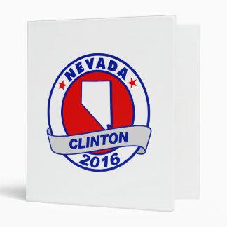 nevada Hillary Clinton 2016.png Vinyl Binders