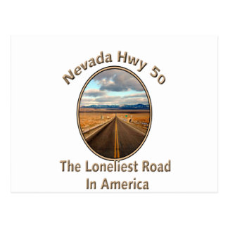 Nevada Hwy 50 Postcard