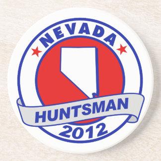 Nevada Jon Huntsman Drink Coaster