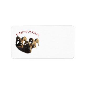 Nevada Label