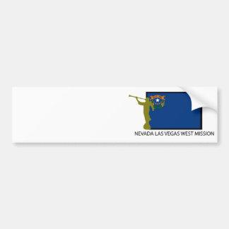 NEVADA LAS VEGAS WEST MISSION LDS CTR CAR BUMPER STICKER