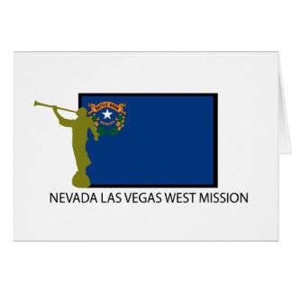 NEVADA LAS VEGAS WEST MISSION LDS CTR CARD