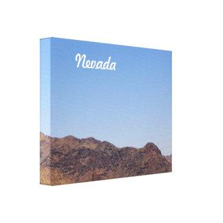 Nevada Impresión En Lienzo Estirada