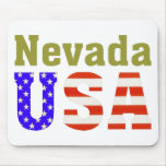 ¡Nevada los E.E.U.U.! Alfombrillas De Raton