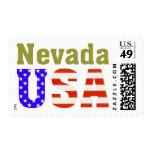 ¡Nevada los E.E.U.U.! Franqueo