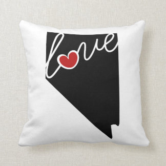 Nevada Love!  Gifts for NV Lovers Throw Pillows