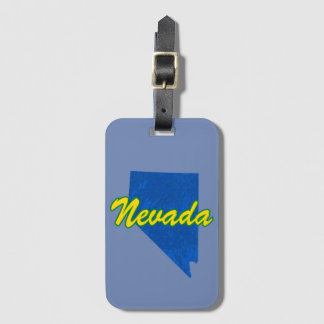 Nevada Luggage Tag