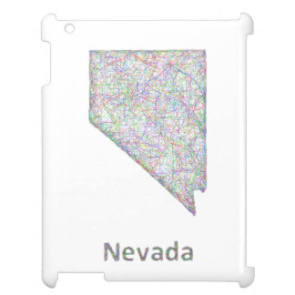 Nevada map cover for the iPad 2 3 4
