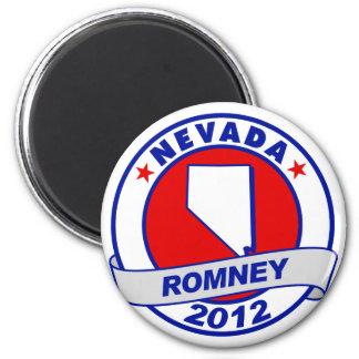 Nevada Mitt Romney 2 Inch Round Magnet