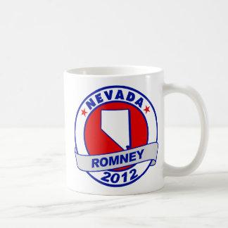 Nevada Mitt Romney Classic White Coffee Mug