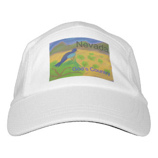 Nevada Mountain Bluebird Baseball Style Cap Hat
