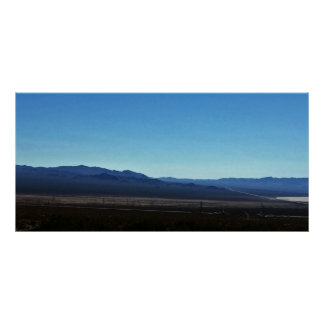 Nevada Mountains Poster