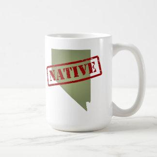Nevada Native with Nevada Map Coffee Mug