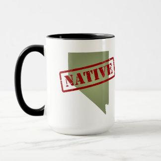 Nevada Native with Nevada Map Mug