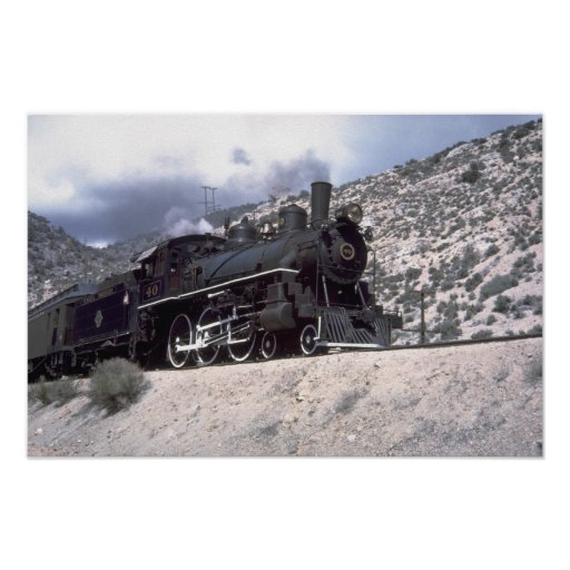 Nevada Northern 4-6-0 Posters