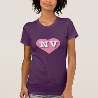 Nevada NV pink heart T-Shirt