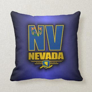 Nevada (NV) Throw Pillow