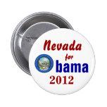 Nevada para Obama 2012 Pins