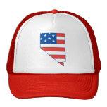 nevada, patriotic, hat, american flag, las vegas,