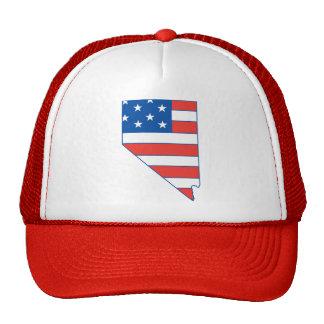 Nevada Patriotic Hat