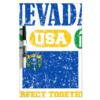 NEVADA PERFECT TOGETHER DISTRESSED PRODUCTS Dry-Erase WHITEBOARD