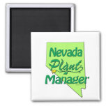 Nevada Plant Manager Magnet