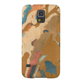 Nevada Plateau Geological Case For Galaxy S5