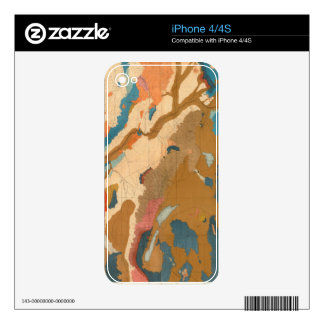 Nevada Plateau Geological Decal For The iPhone 4S