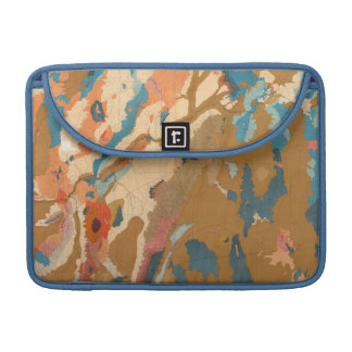 Nevada Plateau Geological Sleeve For MacBooks