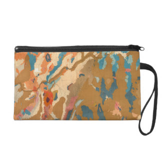 Nevada Plateau Geological Wristlet Purse