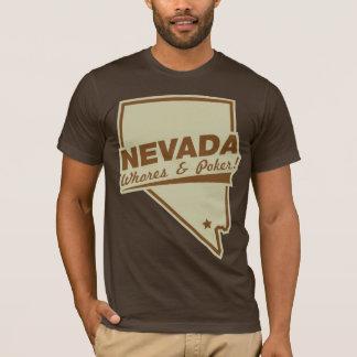 nevada poker funny tshirt