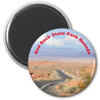 Nevada Red Rock State Park Magnet