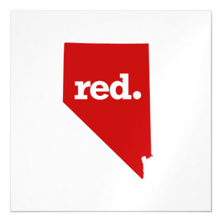 NEVADA RED STATE MAGNETIC CARD