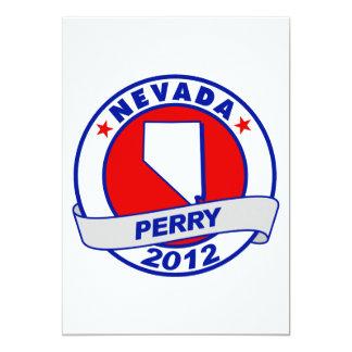 Nevada Rick Perry Invitación 12,7 X 17,8 Cm