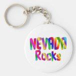 Nevada Rocks Key Chain